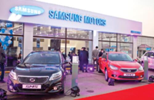Samsung Motors теперь и в Казахстане