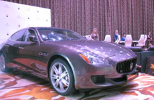 На выставке LUXE EXPO был куплен Maserati Quattroporte GTS