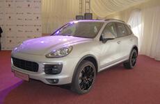 Porsche Weekend: презентация обновлённого Cayenne