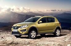 Начались продажи Renault Logan и Sandero с «автоматом»