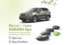 Весна – пора Subaru Spa от Subaru Motor Astana