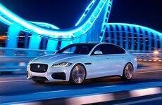 Новый Jaguar XF представили в Алматы