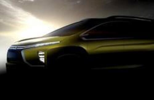 "В Индонезии на международном автосалоне ""GAIKINDO 2016"" представлен новый концепт-кар компактного кроссовера Mitsubishi."