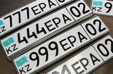 Номера 007 и 777 самые популярные в Астане и Алматы