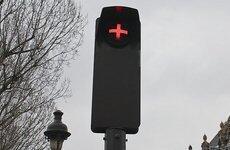 В Астане установили экспериментальный светофор