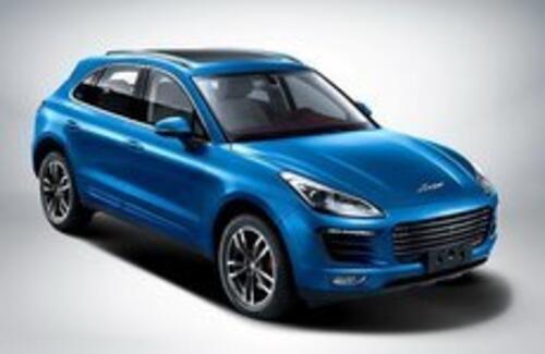 Китайцы выпустили «Porsche Macan для бедных»
