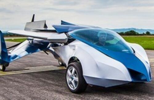 Летающий автомобиль появится в продаже в 2017 году
