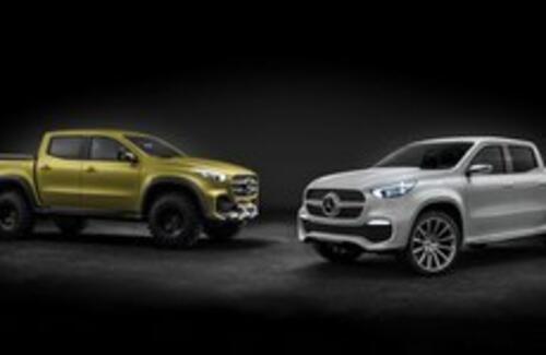 Mercedes-Benz представил первый в истории компании пикап