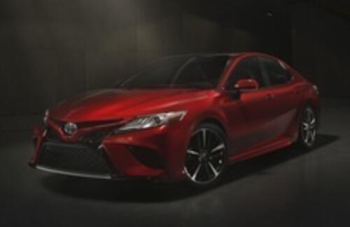 Toyota показала новую Camry