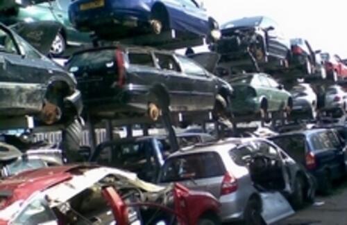 Похищенные автомобили больше не смогут разобрать