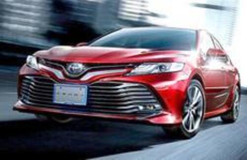 В Японии показали новую Toyota Camry