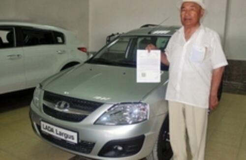 АЗИЯ АВТО передал первый автомобиль  в рамках нового этапа программы утилизации