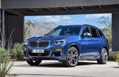 BMW представила новый кроссовер X3