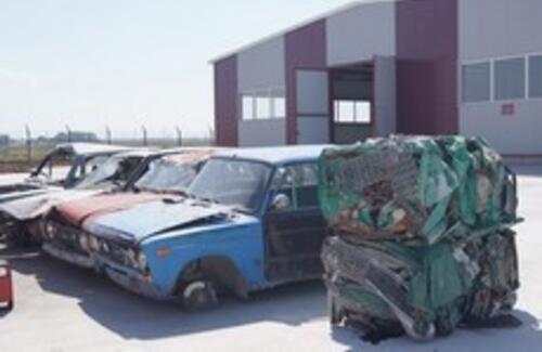 В Караганде заработал первый завод по утилизации автомобилей
