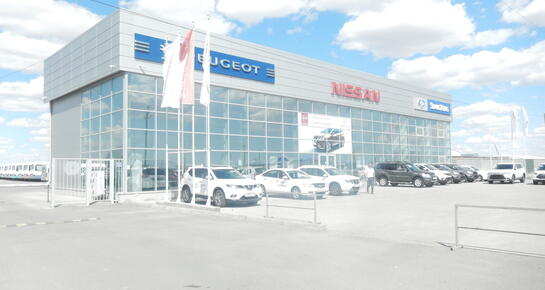 Nissan Центр Атырау, Атырау, Северная промзона 33, Астраханская трасса