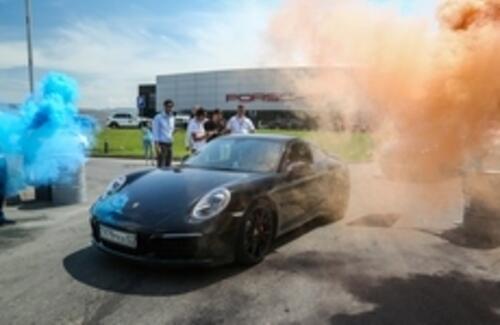 Монобрендовое штурманское ралли Porsche - 2017.