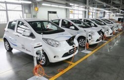 Костанайский завод приступил к мелкоузловому производству китайского кроссовера