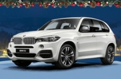 Рождественская ярмарка BMW