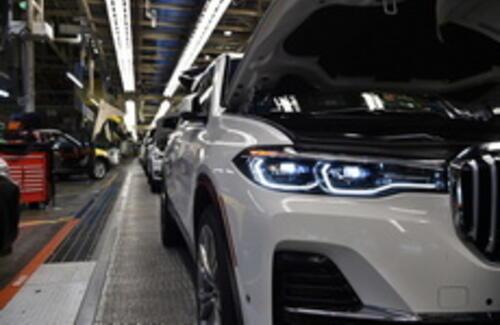 BMW начал выпуск флагманского внедорожника X7