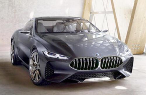 BMW 8 Series сфотографировали без камуфляжа
