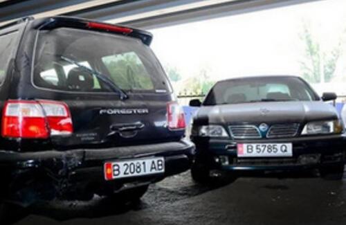 Кыргызские авто можно временно ввозить на один год