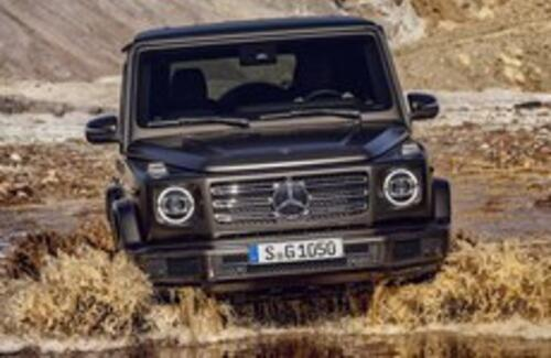 Mercedes обновил легендарный «Гелендваген»