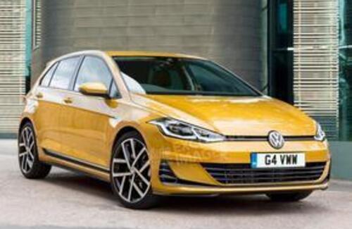 Volkswagen Golf 8 получит новый дизайн