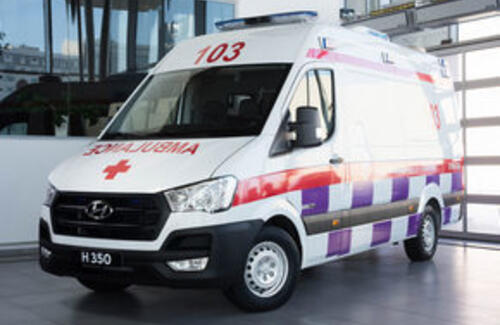 Компания Астана Моторс приступила к сборке HYUNDAI H350 - Ambulance
