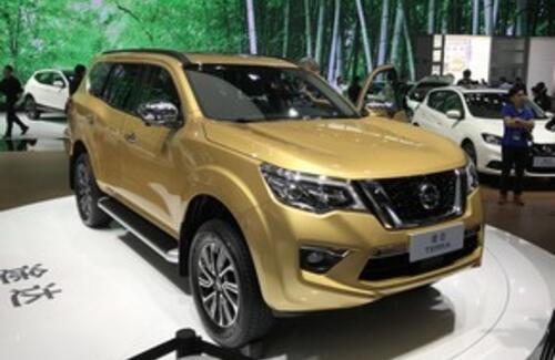 Nissan показал настоящий внедорожник