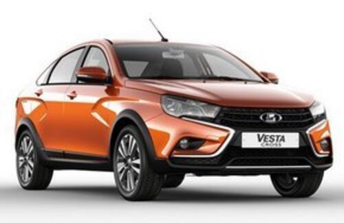 АВТОВАЗ объявил цены на новый кросс-седан Lada Vesta Cross