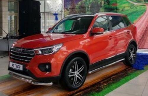 LIFAN X70 – официальный старт продаж