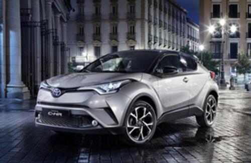 Абсолютно новый Toyota C-HR выходит на казахстанский рынок