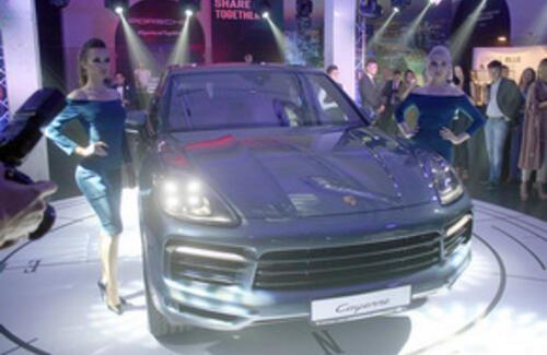 Porsche Cayenne нового поколения уже в Казахстане