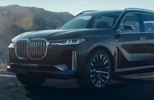 BMW показала новый кроссовер X7 в деле