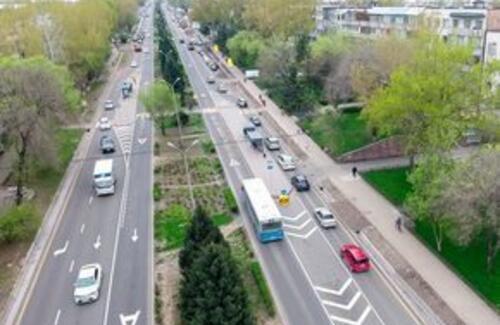 Скоростная линия BRT заработала в Алматы