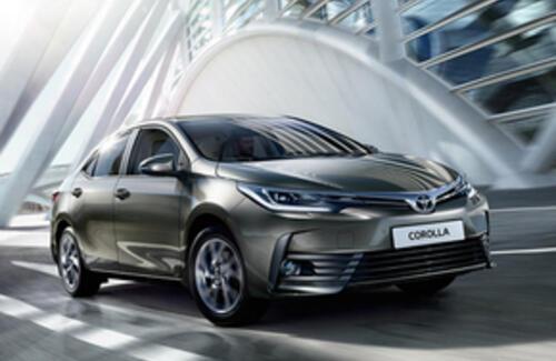 Toyota Corolla стала самым популярным автомобилем планеты