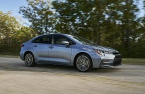 Новый седан Toyota Corolla представлен официально