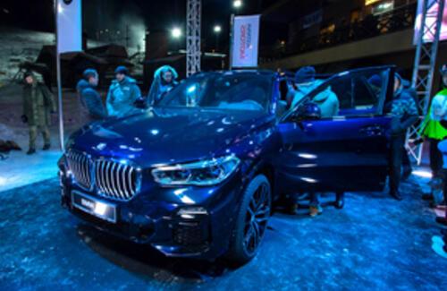 BMW X5 нового поколения представили в Алматы