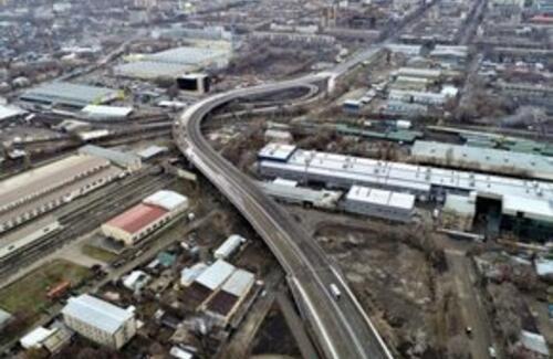 Новая развязка открылась в Алматы