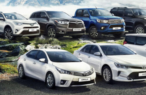 Автомобили Toyota признаны надежными в мире