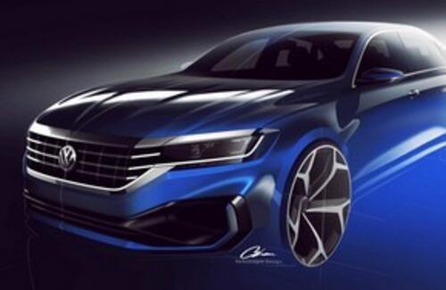 Volkswagen показала каким будет новый Passat
