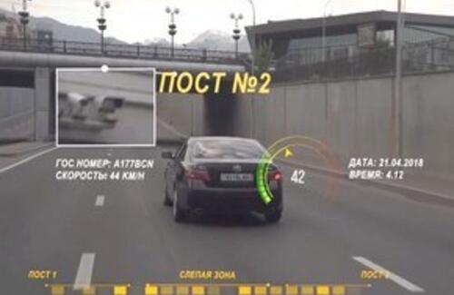 Штрафовать за среднюю скорость в Алматы начнут в феврале
