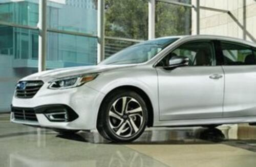 Subaru представила новый Legacy