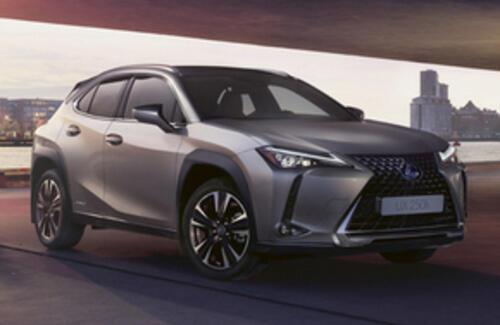 Lexus объявляет о запуске нового компактного кроссовера UX в Казахстане