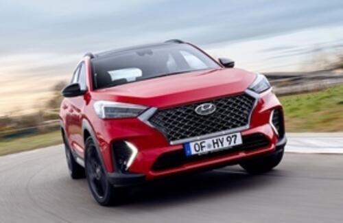 """Новый Hyundai Tuscon получит """"шокирующий"""" дизайн"""