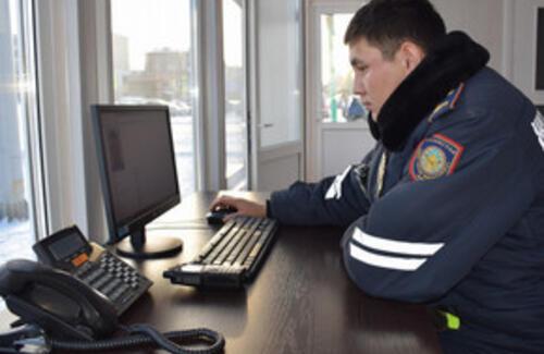 С казахстанских трасс уберут полицейские посты