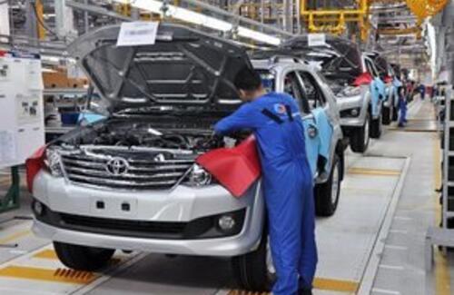 Больше легковых машин стали производить в Казахстане