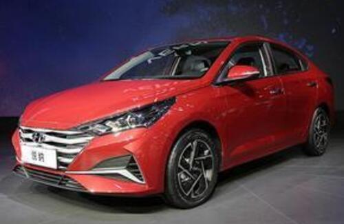 Hyundai показала каким будет новый Accent
