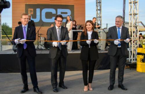 JCB открыл первый официальный дилерский центр в Казахстане