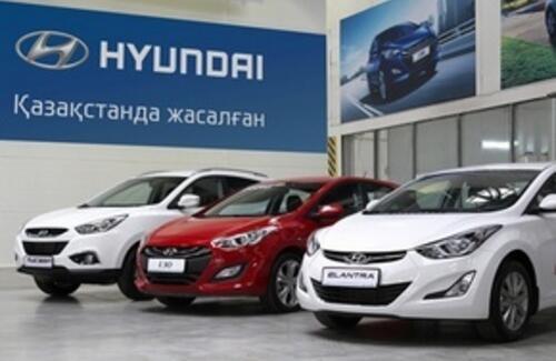"""Астана Моторс"" продала рекордное количество автомобилей Hyundai"